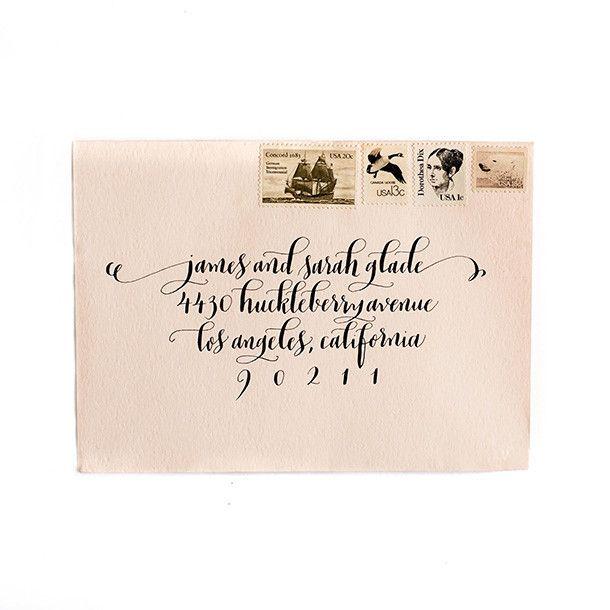 Vintage Stamps - Grey Tone