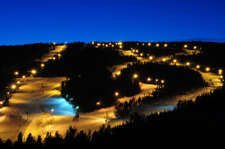 Slalomslope, Funkelia, Kongsberg.