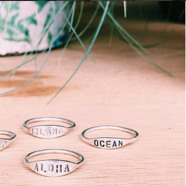 Ocean Rings! At the Beach Boutique