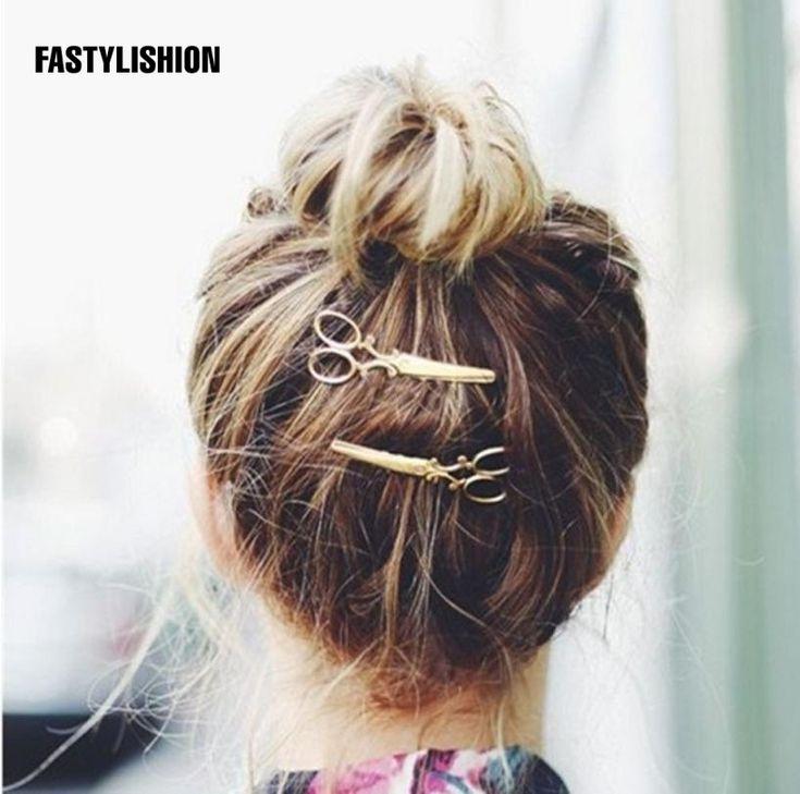 Hair Clips Scissors Combs Girls Fashion Hair Claws Accessories for Women Simple Hair Grip Hair accesorios para el pelo