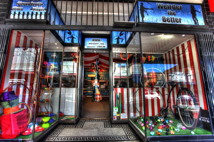 Weirder the Better Circus Shop. #katoomba #nsw #australia #circus #shop #circusshop