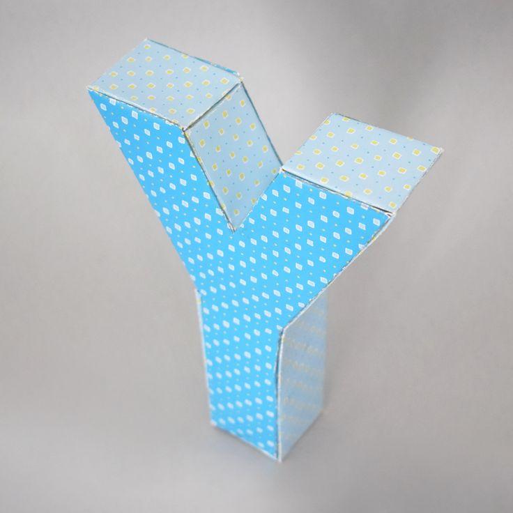 Győrfi Melinda, 3D betű / Győrfi Melinda 3D letter