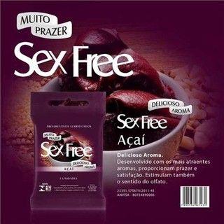 Preservativo Sex Free Açai