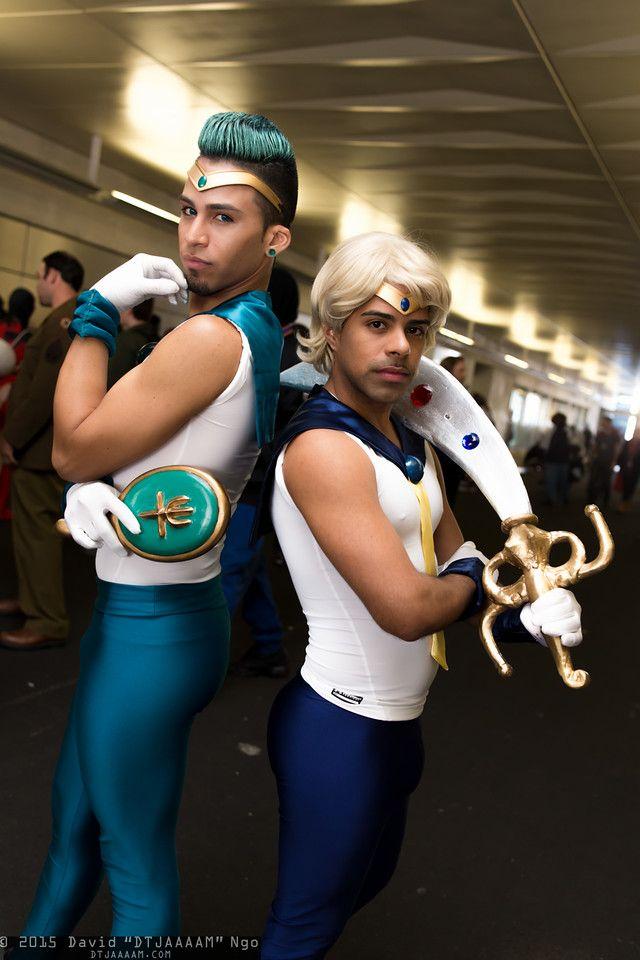 and uranus neptune cosplay Sailor