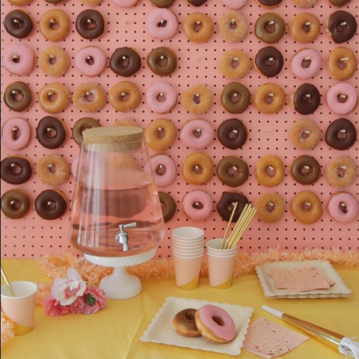 Oh Happy Day Party Hacks: Donut Wall