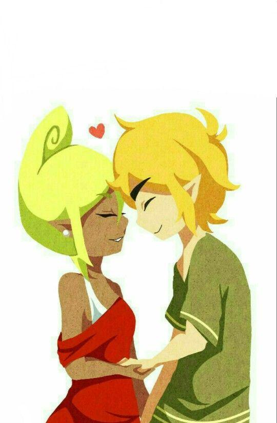 Link and Tetra From WİNDWAKER! BEST SHİP 4EVER