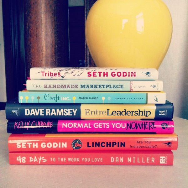 A list of great books for entreprenuers