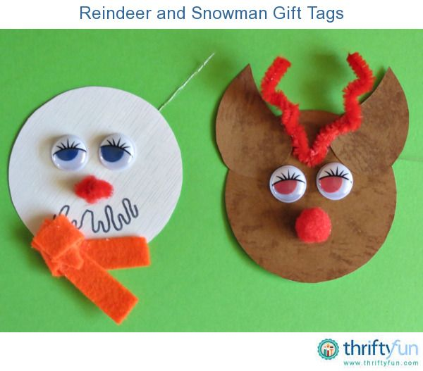 Make these DIY Christmas character gift tags and add a fun element to your gifts.