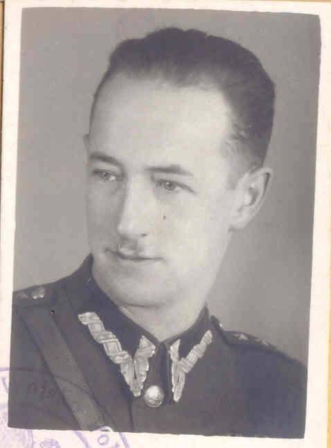 ppłk. LWP Jerzy Tramer - prokurator w procesie IV ZG WiN.