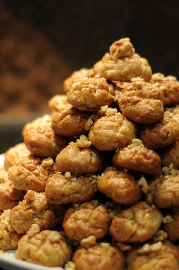 Melomacarona - Greek Christmas cookies