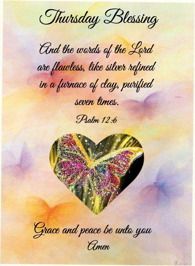 Thursday Blessing Thursday Prayer Thursday Morning Prayer