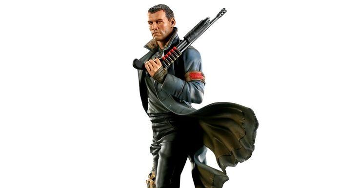 Terminator Salvation: Marcus Wright Polystone Statue (Sam Worthington)
