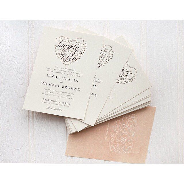 'Love Letters' was one of our most popular designs this year, it's not hard to see why! .  .  .  .  .  #appleberrypress #weddinginspiration #inspo #weddinginspo #weddinginvitations #weddinginvites #bespokedesigns #instadaily #instagood #love #picoftheday #papergoods #wedding #weddingideas #weddingstationery #artistsoninstagram #design #foilingtechnique #foilinvitations
