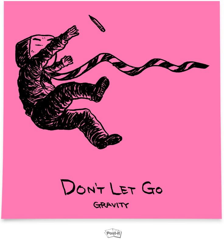 Don't let go!