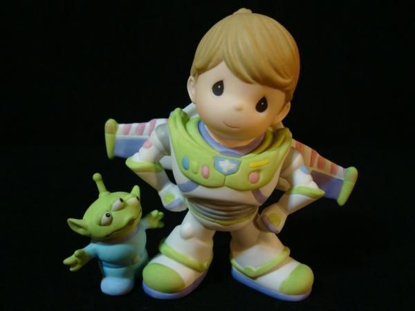 Precious Moments Toy Story Buzz Lightyear To Infinity And