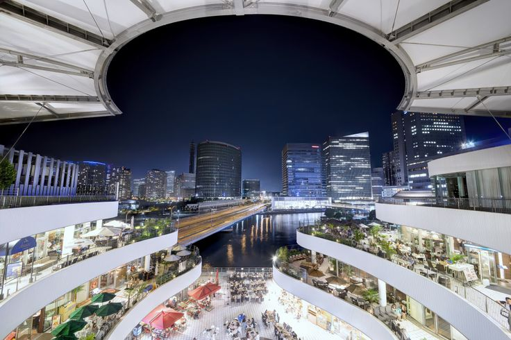 Night view of Yokohama - ARTFreeLife
