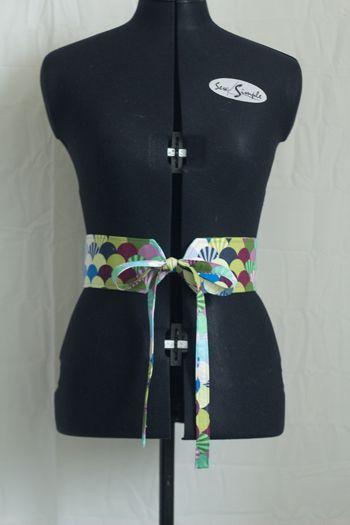 Tuto ceinture style Obi (Eng)