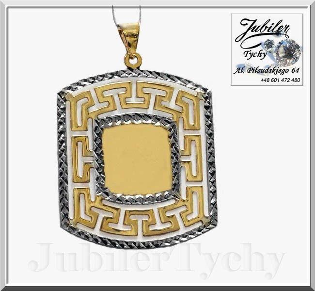 Złota duża blaszka - złoto białe rodowane 💎🛒🧕💍✔️ #Złota #blaszka #przywieszka #złoty #wisiorek #wisior #Złoto #Białe #Rodowane #Gold #Złote #wisiorki #przywieszki #blaszki #biżuteria #rodowana #złota #Tyskie #wyroby #jubilertychy #Jubiler #Tychy #Jeweller #Pracownia #Złotnicza w #Tychach #Tyski #Złotnik #Grawer #Zaprasza #Promocje:  ➡ jubilertychy.pl/promocje 💎