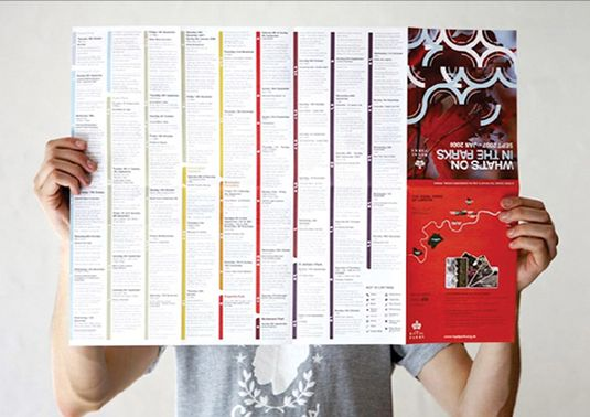 10 tips for designing an event brochure | Print design | Creative Bloq