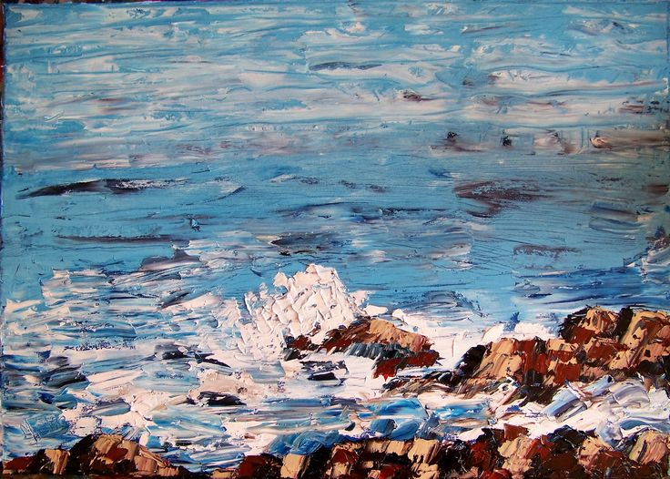 Surf Splash is available from Marietjie Uys at uys.marietjie@gmail.com. Oil on stretched canvas. 42 x 59,4 cm. R1500. Unframed.