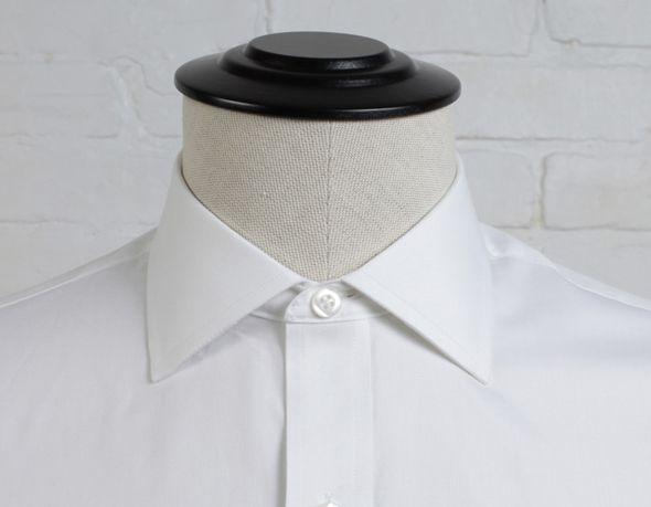 col italien chemise homme