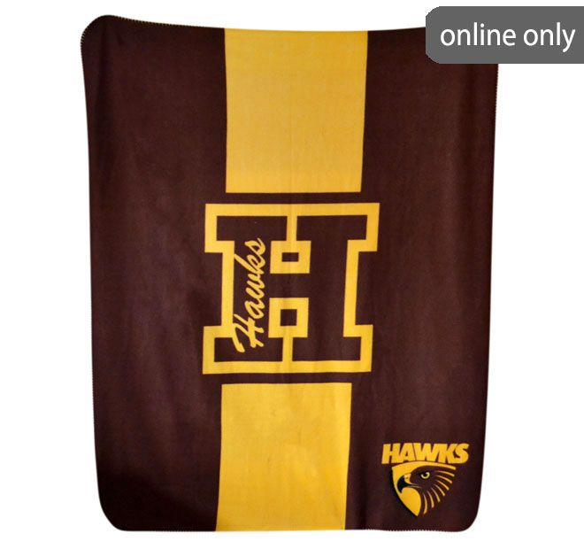 afl-team-logo-polar-fleece-printed-throw-hawthorn-hawks