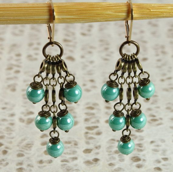 chandelier design earring by estellelukoffdesigns on etsy 4000