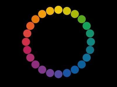有彩色は、見た目に進出して見える色もあれば、後退して見える色もあります。