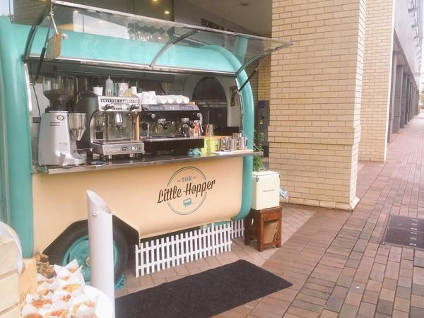 Come on down to the Australian Technology Park and check out this cute coffee cart by The Little Hopper down by the Biomedical Building!