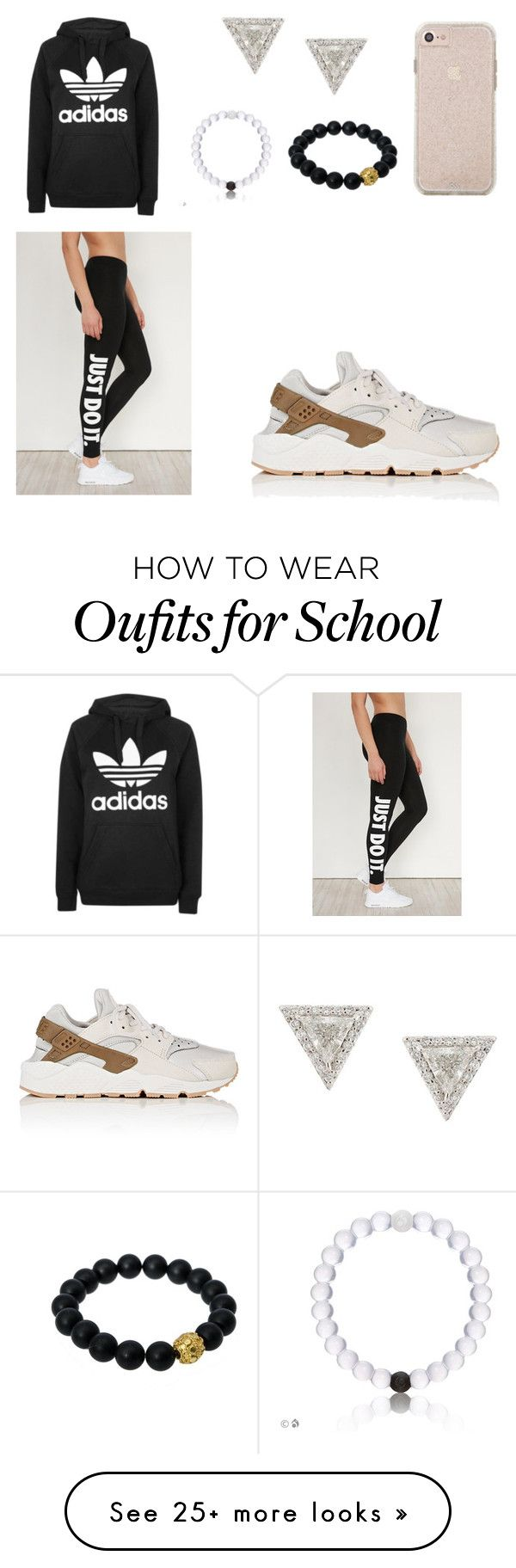"""HIGH SCHOOL STYLE"" by mgarcia-iii on Polyvore featuring Lizzie Mandler, Berluti, NIKE and Topshop"