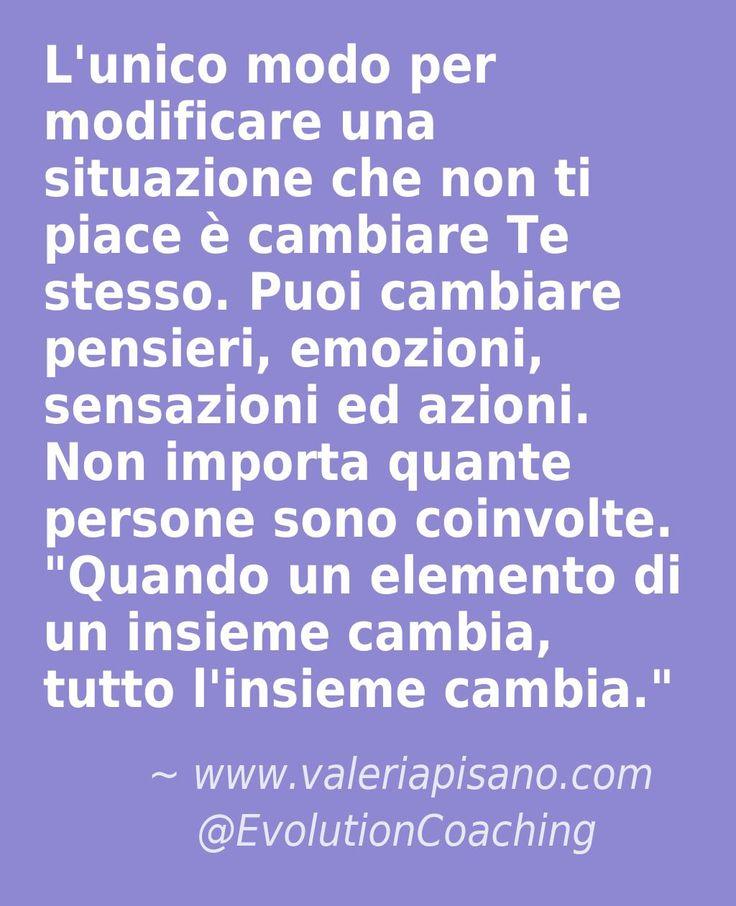 #cambiamento #evolution #coaching #situazionidifficili #stress www.valeriapisano.com