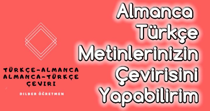 Almanca Ve Turkce Metinlerinizin Cevirisini Yapabilirim Grafik Tasarimcilar Turkce Almanca