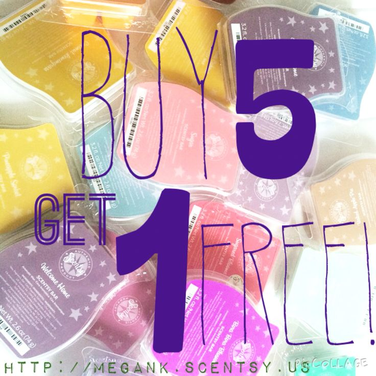 Buy 5 Get 1 Free Always Http Megank Scentsy Us