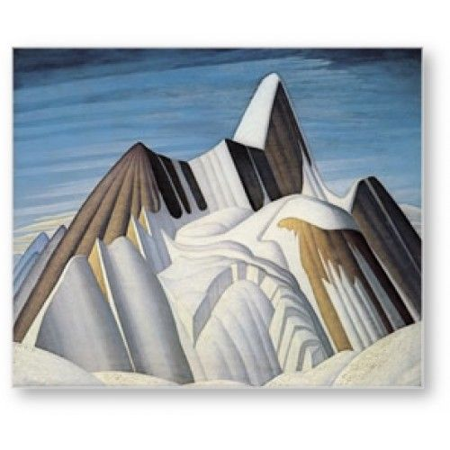 Lawren Harris (1885-1970) Mount Robson, from the South East,1929 Group of Seven