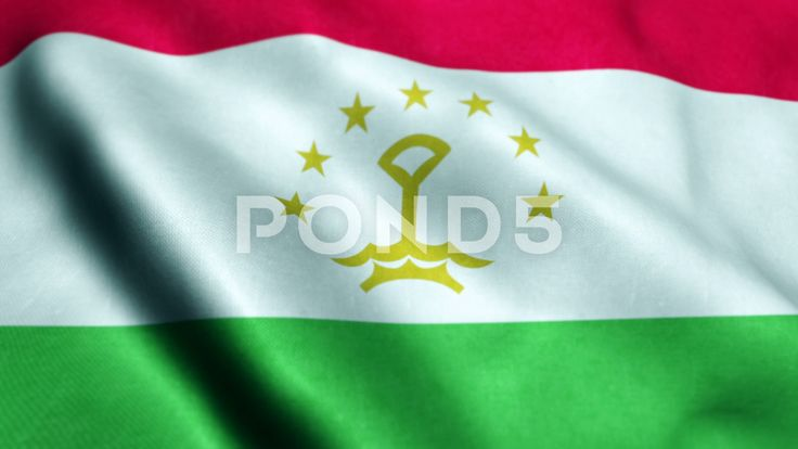 Flag of Tajikistan Beautiful 3d animation of Tajikistan Flag in loop mode - Stock Footage | by panuwatsexy