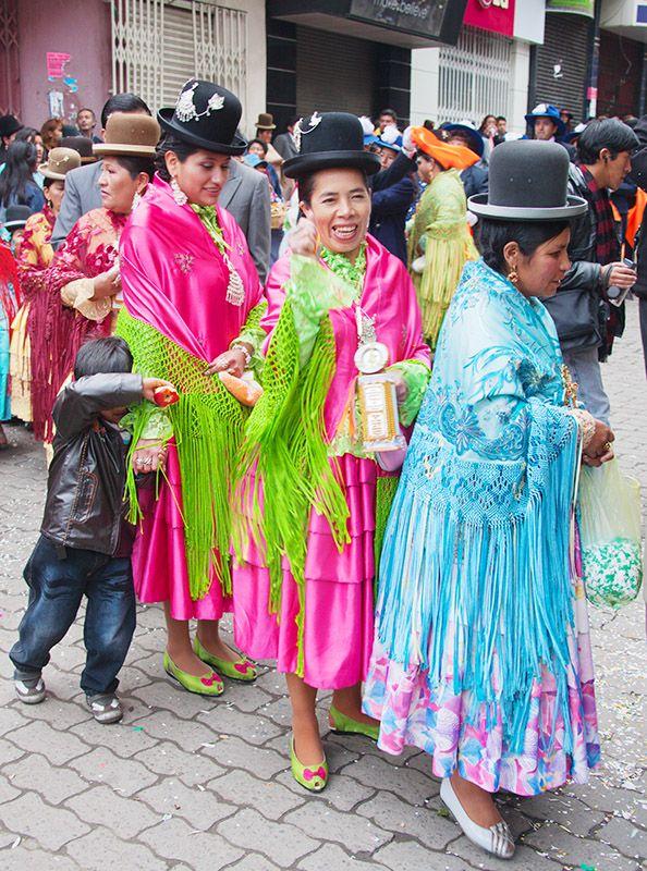 Wedding Guests La Paz Bolivia Invités D Un Mariage à Bolivie