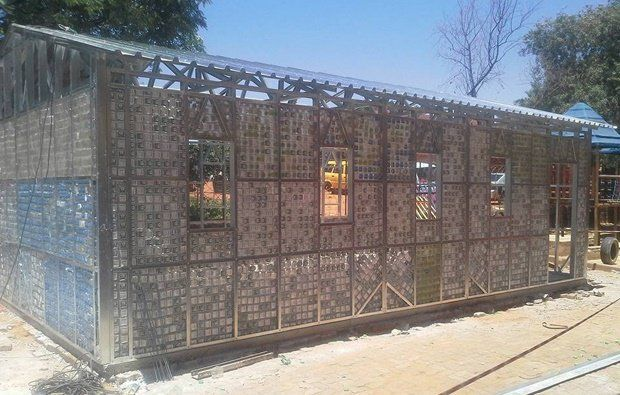 Class Act Turning Plastic Bottles Into The Building Blocks Of Education News24 Building Blocks Plastic Bottles Building