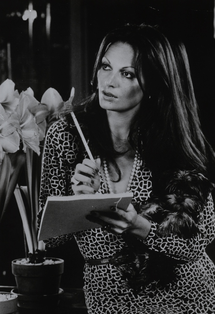 Diane von Furstenberg wearing her signature wrap dress, DVF launched her  fashion line in Today, she is considered one of the most influential ladies  in ...