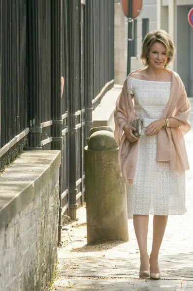 Queen Mathilde of Belgium. May 2016