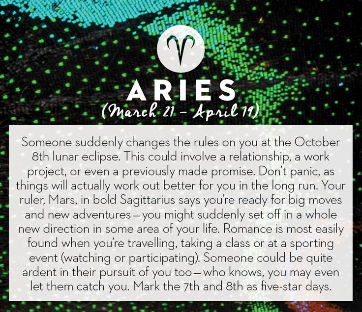 Get your horoscope for the month of October! #horoscopes #aries