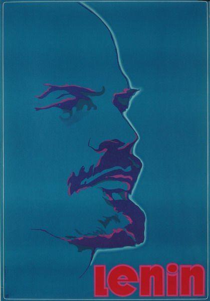 Designer: Cetnarowski Antoni. Year: 1977   Title: Lenin