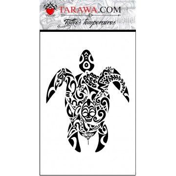 12 best images about tatouage polynesien maori on pinterest popular maori tattoos and bracelets - Tatouage polynesien tortue ...