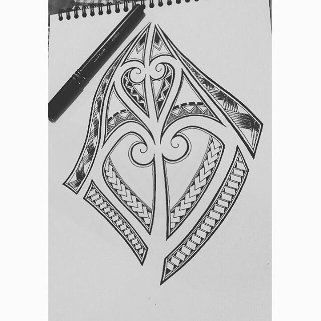 Calf muscle tattoo design I did