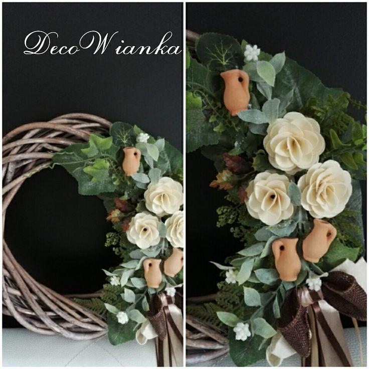 Wianek,wianki,stroik,kompozycja kwiatowa