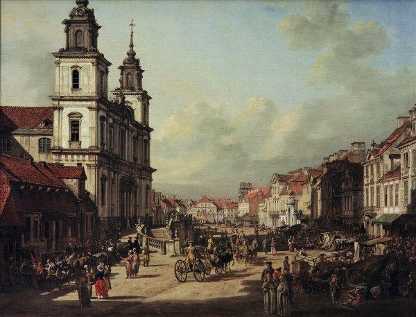 Bernardo Bellotto - Warschau, Heilig-Kreuz-Kirche.