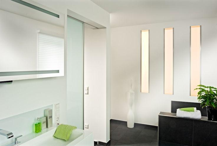 das inova schiebet r system focus eignet sich um das bad platzsparend zu ffnen oder zu. Black Bedroom Furniture Sets. Home Design Ideas