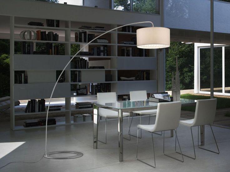 Lámpara de pie con luz indirecta GINGER - LUCENTE - Gruppo Rostirolla