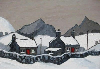 David BARNES - Distant Snowdonia