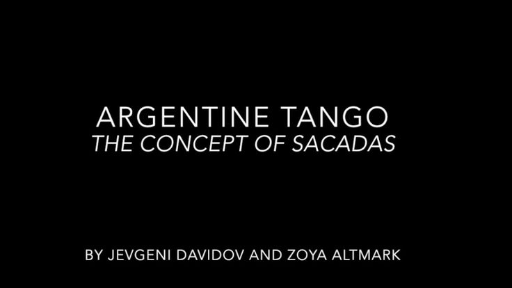 Argentine Tango // How to Sacada