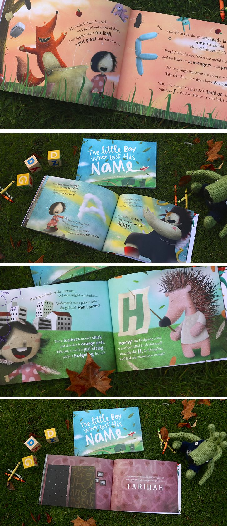 Lost My Name is a vibrant, fun-filled personalized storybook perfect for ages 0-6 years. It follows the story of a child who goes on an adventure to find their missing name, collecting letters off the exciting characters they meet. The best part is the extra special surprise at the end- your child's name! Why not preview what your little one's book will look like? It's super easy to create and can be shipped anywhere in the world for free!